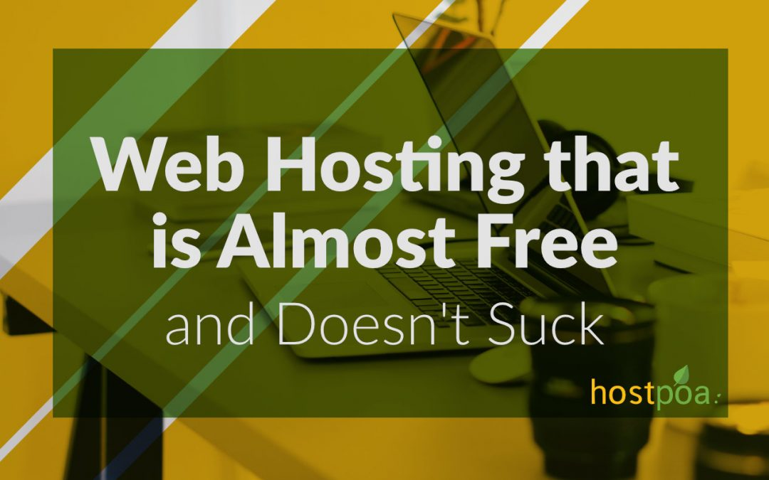 Web Hosting in Kenya That's Almost Free and Doesn't Suck
