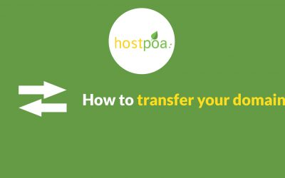 How to transfer my domain name
